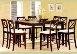 8 Chairs Dining Set Counter Height Table For 8 Foter