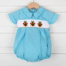 boys clothes for thanksgiving smocked monogrammed