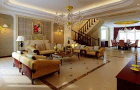 classic french luxury interior design with nice wall decor and