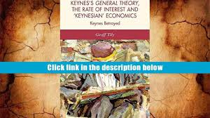 free download keynes s general theory the rate of interest and