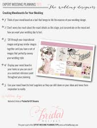 wedding tips top tips on creating mood boards for your wedding