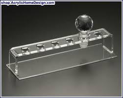 wine stopper rack 6 piece acrylic home design