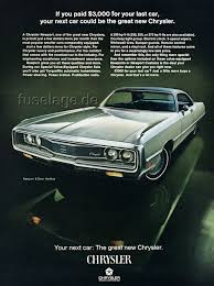chrysler car mopar fuselage styled full size cars