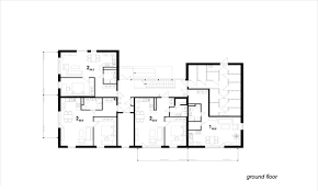 Simple Floor Plan Of A House by Residential Floor Plans With Dimensions Simple Floor Plan
