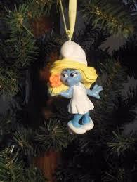 the smurfs smurfette hallmark 2011 tree