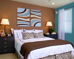deco chambre marron deco marron et bleu mobilier décoration