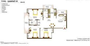 Grandeur 8 Floor Plan by Gaur Grandeur 2 Gaur Grandeur 2 Noida City Centre