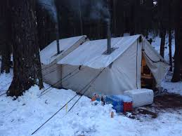 Sugarhouse Tent And Awning Base Camp Wood Stove Whatcha Running