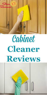 cabinet cleaners reviews which products work best