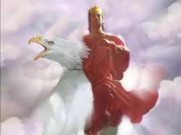 google didn u0027t have jesus riding a bald eagle so i thought i u0027d try