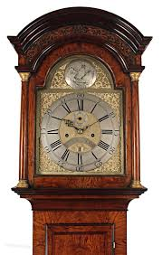antiques atlas an unusual longcase clock by sanderson of exeter