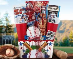 baseball gift basket 7th inning stretch gift basket at wine country gift baskets