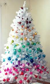 small white christmas tree i think this is what imgonna do with my tree this year if my
