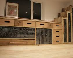 wood sideboard etsy