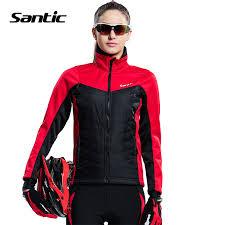warm cycling jacket 2017 santic women cycling jacket warm fleece thermal windproof mtb