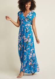 maxi dresses feeling serene maxi dress in cherry blossoms in xs modcloth