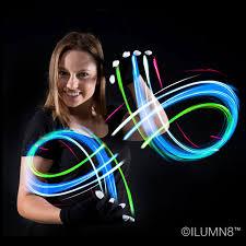Light Up Gloves Led Gloves 6 Modes Multicolour Lights 1 Pair