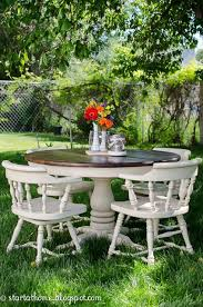 How To Refinish A Table Sand And Sisal by Best 25 Refinish Kitchen Tables Ideas On Pinterest Refurbished