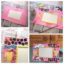 how to make collage picture frames for persil