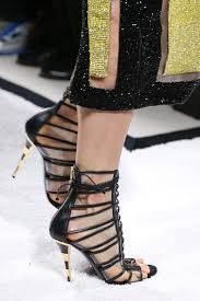 strappy shoes the chicest trend maraboo
