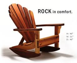 rocking chair design rocking adirondack chair plans rock in