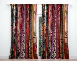 Boho Window Curtains Boho Window Curtains Style Woodio