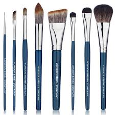makeup brush set the fundamental vegan 8 piece london brush company