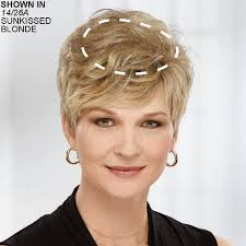 thin hair pull through wigltes delicate touch human hair wiglet hair piece by paula young