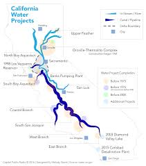 California Aqueduct Map Does California U0027have The Same Water Infrastructure U0027 As It Did In