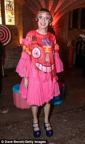 Cross Dressing Halloween Costume Grayson Perry Raises Eyebrows Exhibition Centrepiece Daily