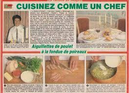 cuisinez comme un chef cuisinez comme un chef aiguillettes de poulet à la fondue de