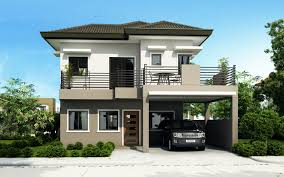 2 Storey House Four Bedroom Two Storey House Design Home Design