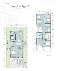 100 floor plan single storey bungalow teladan setia taman
