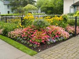 flower garden layout gardening ideas