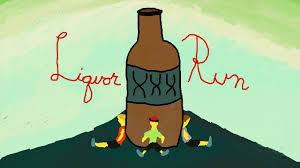 cartoon alcohol bottle liquor run podcast episode 1 fleischmann u0027s vodka youtube