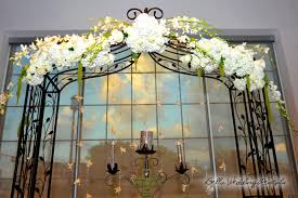 wedding arches rental wrought iron decorated wedding arch outdoor ceremony arbor