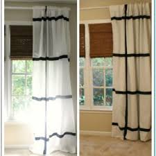 Sewing Curtains With Lining How To Attach Blackout Lining Curtains Without Sewing