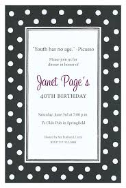 polka dot invitations black and white polka dot invitations b w polka dot invitations