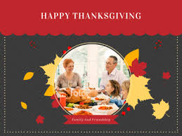 thanksgiving fotor photo cards free photo card maker