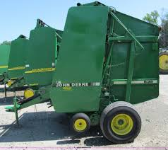 1993 john deere 535 round baler item d3242 sold june 15
