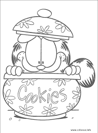 garfield coloring pages exercise garfield 106 preschool coloring