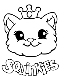 squinkies coloring pages getcoloringpages