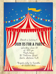 theme invitations circus theme invitation templates 23 carnival invitations free psd