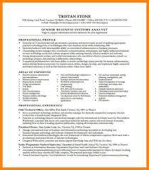Intelligence Analyst Resume Systems Analyst Resume Samples Sap Business Analyst Resume 100