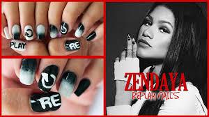 zendaya replay nails youtube