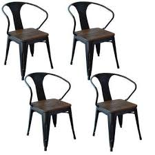 Black Wood Dining Chair Dining Chairs Kitchen U0026 Dining Room Furniture The Home Depot