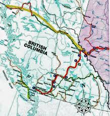 Train Map Of Boston by The Skeena Riding The Rails Across British Columbia Notable