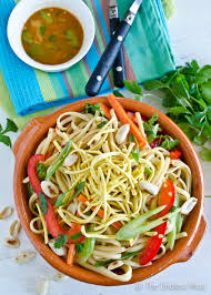Noodle Salad Recipes Healthy Asian Noodle Salad The Endless Meal