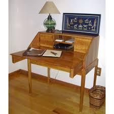 Secretary Computer Desk by Custom Secretary Desk In Figured Cherry By Custom Furniture