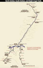 Grand Canyon Maps Winter Trip Backpacking Grand Canyon Rim To Rim To Rim